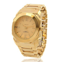 14K Gold Minimalist Watch