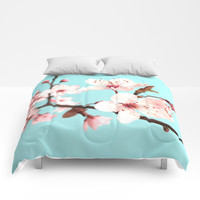 Spring Flowers Comforters by Whimsy Romance & Fun