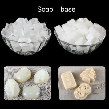 400g/bag white and transparent Soap Base Handmade Soap DIY Raw Materials breast milk Soap Making Melt Soap Base