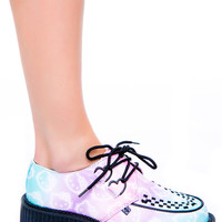 T.U.K. Hello Kitty Ombre Mondo Creeper Multi