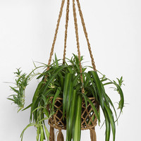 Magical Thinking Woven Plant Holder