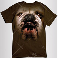 Bulldog T-shirt T-shirts Hoodie Hoodies Sweatshirt Sweatshirts Tank Top Tank Tops Animal T-shirts Dog Dogs T-shirts Wild Life T-shirts