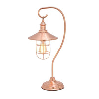 Benzara Magnificent Metal Copper Table Lamp with Bulb
