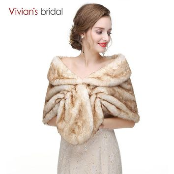 Bridal Wraps Winter Wedding Coats  Jacket Shrug Shawl Wedding Accessories