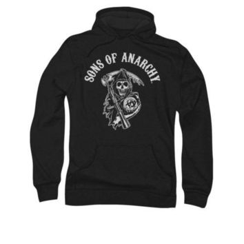 Sons Of Anarchy Soa Reaper Adult Pullover Hoodie