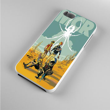 my chemical romance cartoon poster Iphone 5s Case