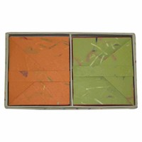 """Boxed 16 Cards and Envelopes 4""""X5"""" Organic - Sustainable Threads (J)"""