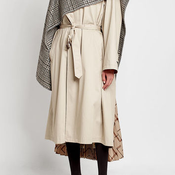 Hybrid Car Coat with Cotton and Wool - Balenciaga | WOMEN | US STYLEBOP.COM