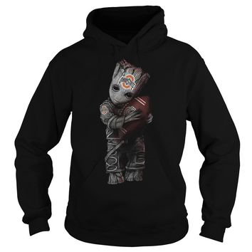 Groot hug Ohio state football club shirt Hoodie