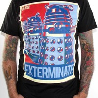 Doctor Who And The Daleks T-Shirt - Xterminate