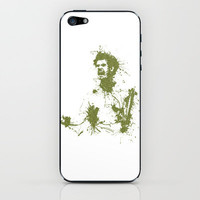 Andy Murray Wimbledon Tennis iPhone & iPod Skin by DanielBergerDesign