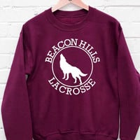 Teen Wolf Stilinski 24 sweatshirt cozy sweater for mens and womens heppy fit or sizing.