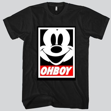 OHBOY Unisex T-shirt Funny and Music
