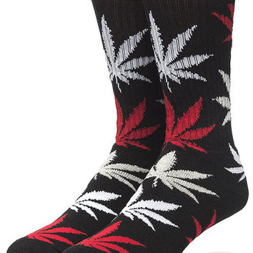 The Plantlife Crew Socks in Black
