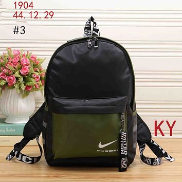 NIKE 2018 trend men and women wild casual large volume travel leisure backpack #3