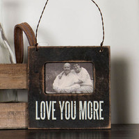 Love You More Magnet Frame
