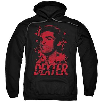 Dexter - Born In Blood Adult Pull Over Hoodie