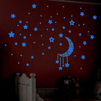 VONFC9 wall stickers home decor Glow In The Dark Stars 3d movie wall stickers room decorations Wall Decals adesivo de parede