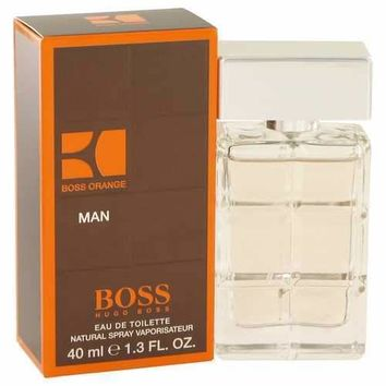 Boss Orange by Hugo Boss Eau De Toilette Spray 1.4 oz (Men)