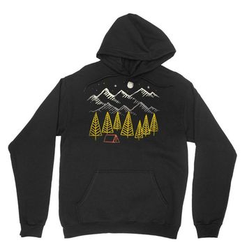 camp forest Unisex Hoodie