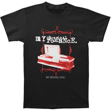 My Chemical Romance Men's  Coffin Tee T-shirt Black