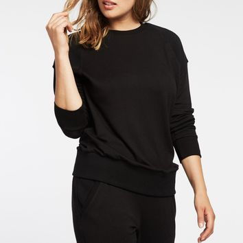 Michi Combat Black Sweatshirt