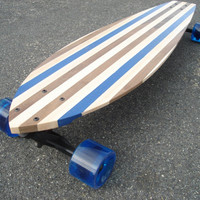 "Longboard - 36x9 - Custom Made - ""Bluefields"""