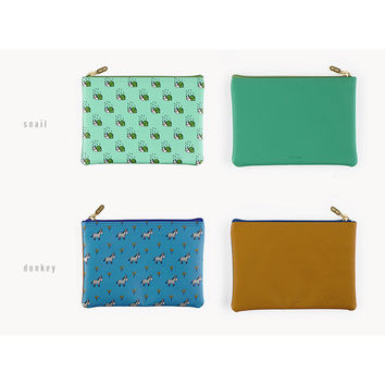 Livework Jam Jam cute pattern daily pouch