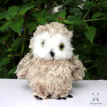 Grass Owl Stuffed Animal Plush Toy 6""