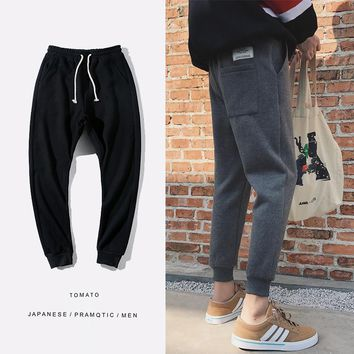 Winter New Pattern 2017 Increase Warm Thickening Leisure Casual Pants Haren Sweatpants Pantalon Hombre Mens Fashion Trousers