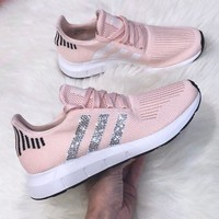 Adidas Tublar Shadow Knit Individuality Sequins Fashion Lightweight Woven Breathable Casual Jogging Shoes-1