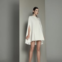 Minimalist Wool Cape | Kamila Gawronska Kasperska | Shop | NOT JUST A LABEL