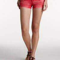Charlotte Russe - Overdyed Denim Short