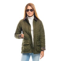 Barbour® Olive Beadnell Polarquilt Jacket