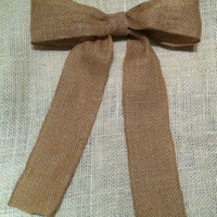 Shabby Chic Rustic Bows Set of 10