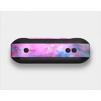The Vivid Pink and Blue Space Skin Set for the Beats Pill Plus