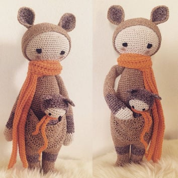 Kira the Kangaroo by Lalylala Amigurumi