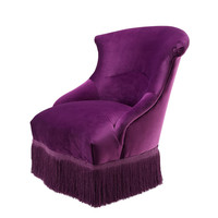 Purple Lounge Chair | Eichholtz Etoile