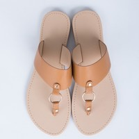 Leather Banded Sandals