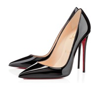 SO KATE PATENT,NOIR,Vernis,Women Shoes,louboutin.