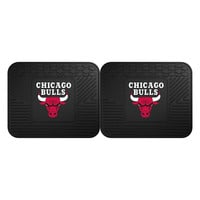 Chicago Bulls NBA Utility Mat (14x17)(2 Pack)