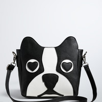 Boston Terrier Crossbody Bag