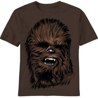 Star Wars Chewie Face T-Shirt