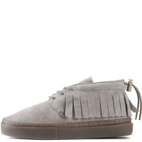 Clear Weather Unisex: One O One Goat Chukka Moccasin Sneakers