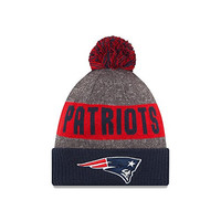 New England Patriots New Era 2016 NFL Official Sideline Sport Knit Hat