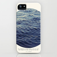 You or Me iPhone Case by Tina Crespo