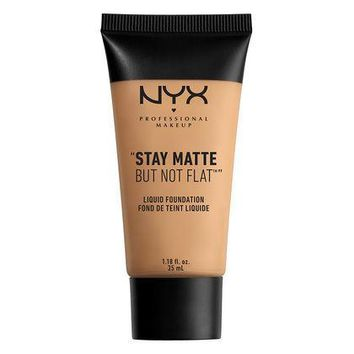 NYX Stay Matte But Not Flat Liquid Foundation - Warm Beige - #SMF17