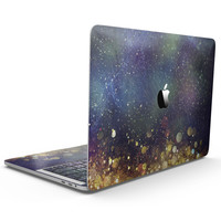 Unfocused MultiColor Gold Sparkle  - MacBook Pro with Touch Bar Skin Kit