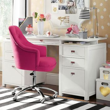 Customize-It Super Storage Pedestal Desk