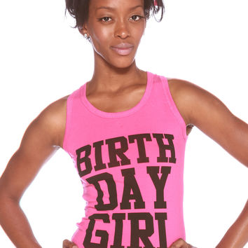 Birthday Girl Tank Top